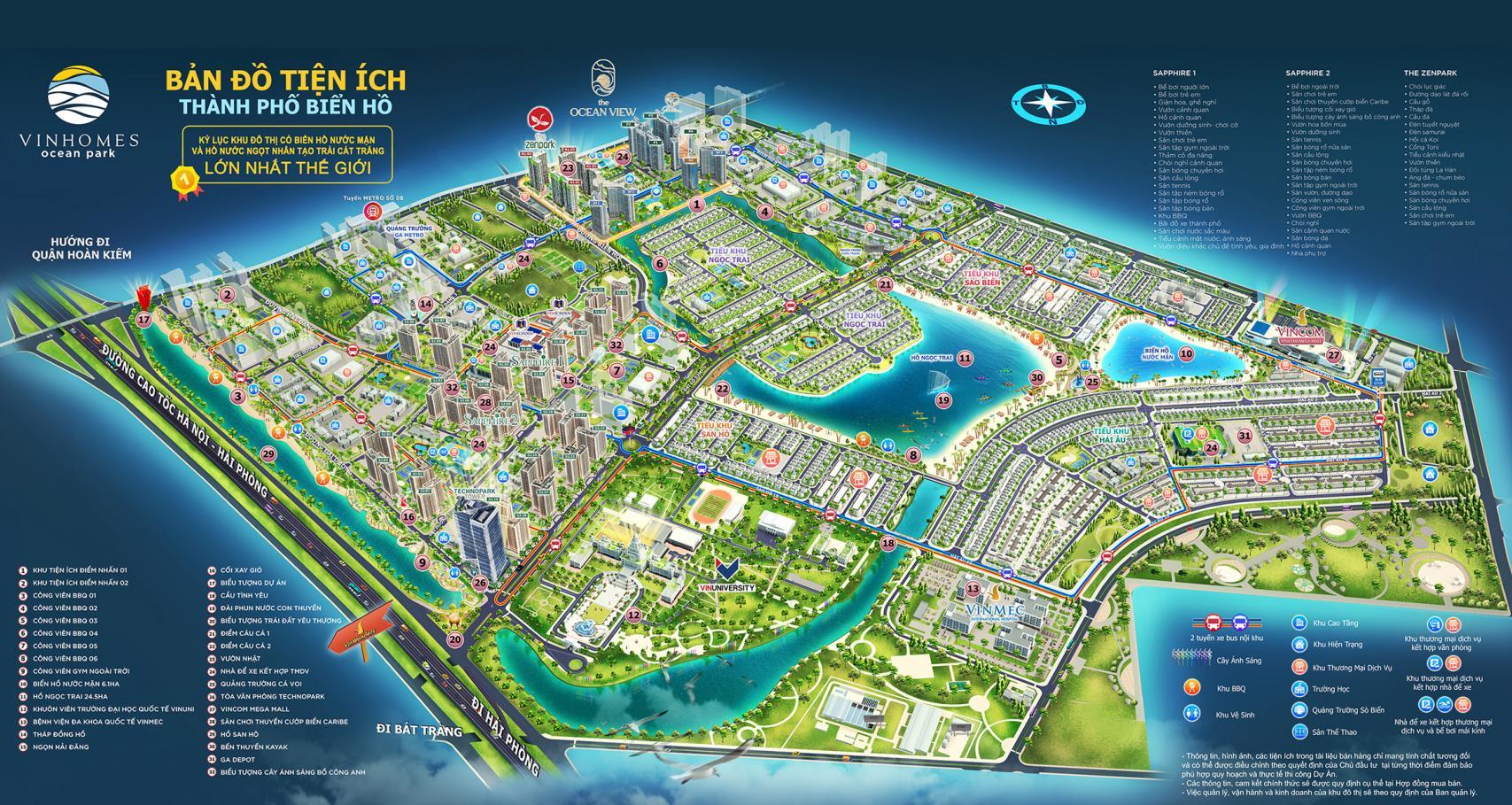 Dự án Vinhomes Ocean Park