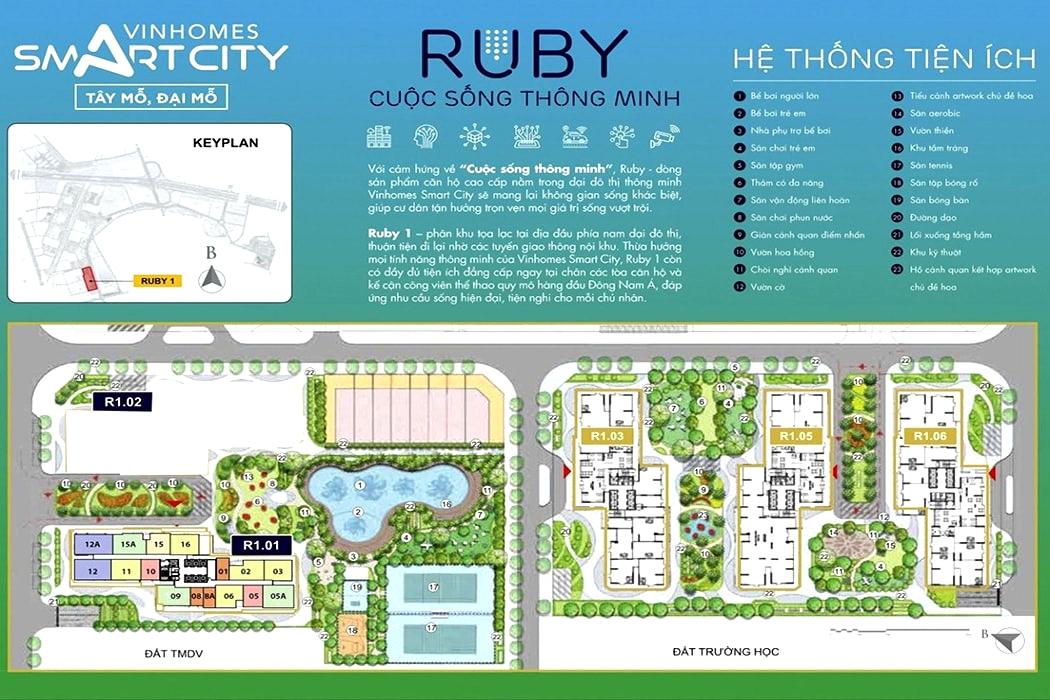 Phân khu Ruby R1